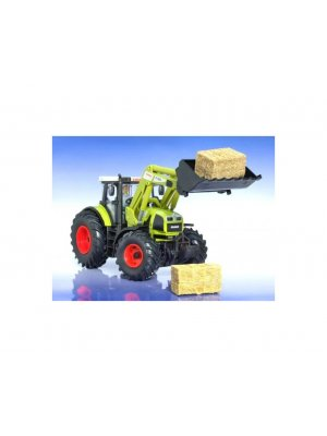 Highly detailed and accurate 1:32 scale Claas Atles 936 RZ with earth bucket collectable die cast and plastic model