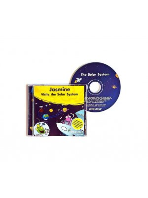 Visits The Solar System - personalised CD gift