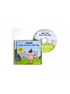 Three Little Pigs - An ideal personalised gift