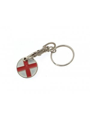 Shopping trolley token - George Cross design