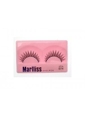 False Lashes False Eyelashes Fake Eyelashes Artificial Eyelashes with Glue 074