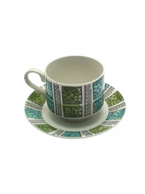 Broadhurst Corinth Kathie Winkle pattern Cup and Saucer
