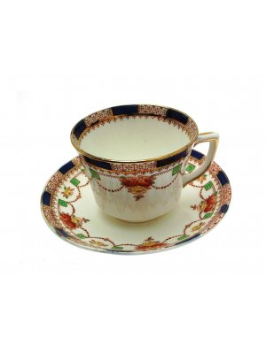 Doric Garland Doric 413 Teacup and Saucer Dates c1930s