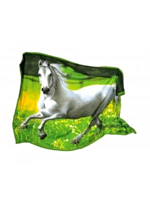 Horse Gifts For Girls Kids Fleece Blankets Fleece blanket horse design