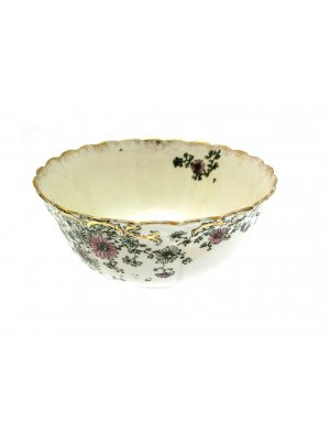 Foley Cineraria pattern 6 inch Slop bowl or Sugar Bowl