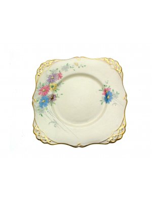 Gainsborough Tatton Edinburgh 3883A Handfinished 9 inch Cake Plate