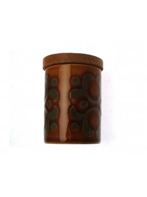 c1970s Hornsea spice jar pattern is Bronte