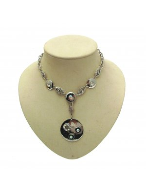 Statement Necklaces For Women Chunky Necklaces Fashion Jewelry Silver INV019