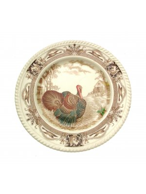 Johnson Brothers 10.75 inch plate - Barnyard King - small chip to rim