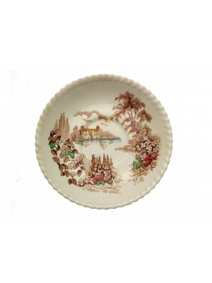 Johnson Brothers 6.25 inch saucer ONLY - Castle on the Lake pattern