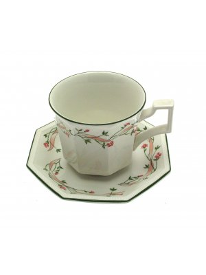 Johnson Brothers Eternal Beau Breakfast Cup & Saucer Large Cup & Saucer