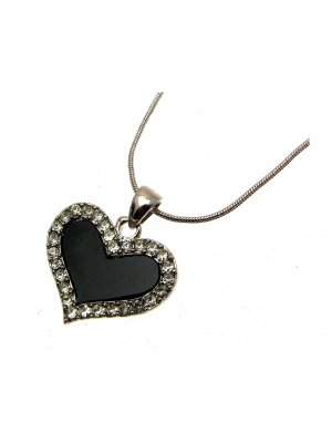 Pendant Necklace Heart Necklace Heart Jewellery - JW102