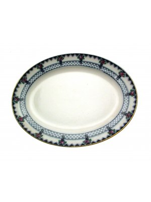 Keeling and Co Losolware Pattern Gordon 12 inch Ashet or Meat Plate
