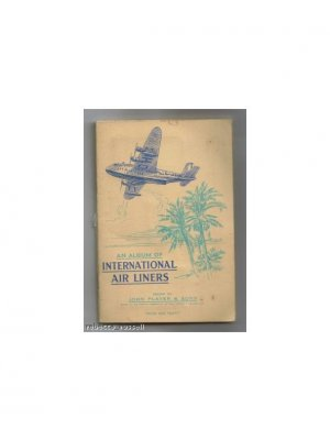 An Album of International Air Liners issued by John Player & Sons