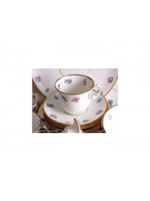 c1930 Salt and Nixon pink and blue floral 7493 2.75 inch high Cup ONLY