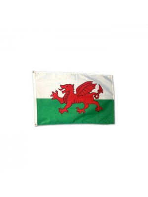Welsh dragon flag approx 5 feet x 3 feet