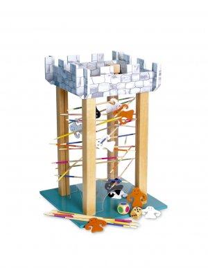 Ghost tower wooden puzzle game 2-5 player