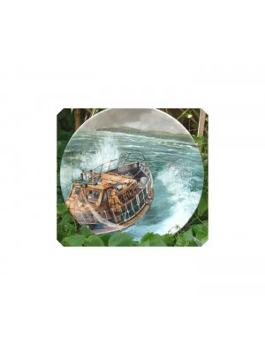 Collector plate Crown Staffordshire Minerva Ware Off The Slipway Heroes of the Sea collector plate CPO_24