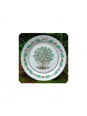 Spode Christmas Plate 1977 The Holly & the Ivy collector plate - CPO216
