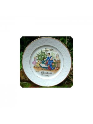 Royal Worcester Christmas Plate 1980 - cpo47