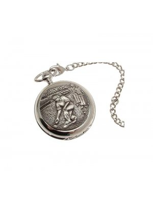 Pocket Watches For Men Mechanical Pocket Watch Bowling Pewter design 33