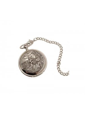 Pocket Watches For Men Mechanical Pocket Watch Ramblers design Pewter Fronted 35