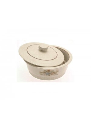 Poole Melbury tureen and lid 8.75 inches in diameter - at fault