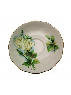 Royal Standard or Roslyn Wheatcroft Roses Virgo 5.75 inch Saucer ONLY