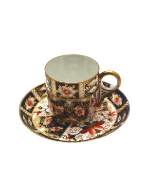 Royal Crown Derby Imari 2451 Small cup and saucer
