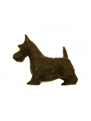 Bronze Sculptures Hand cast bronze Scottie dog or Westie