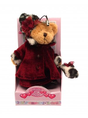 Teddy bear mobile phone charm bag charm or purse charm 3