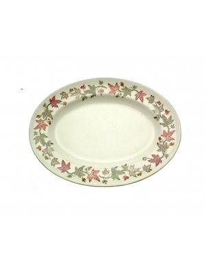 Wedgwood Ivy House 13.5 inch Ashet or Meat Plate