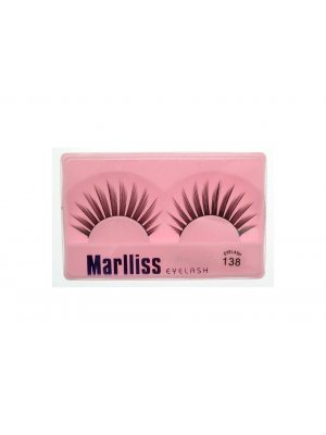 False Lashes False Eyelashes Fake Eyelashes Artificial Eyelashes with Glue 138