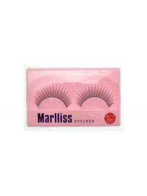 False Lashes False Eyelashes Fake Eyelashes Artificial Eyelashes with Glue 077