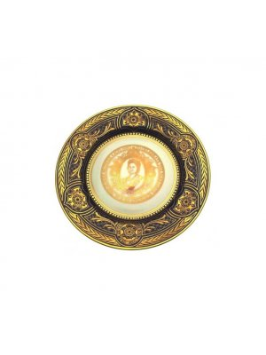 Caverswall 90th birthday Queen Mother Eclipse plate Limited Edition to just 250 pieces only CP1400