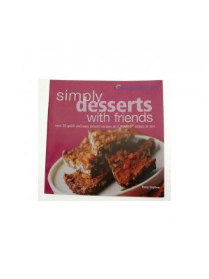 Weightwatchers Simply Desserts with Friends book Penny Stephens