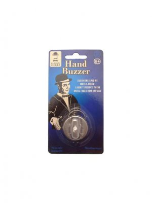 Classic Jokes Hand Buzzer joke ideal pocket money toys