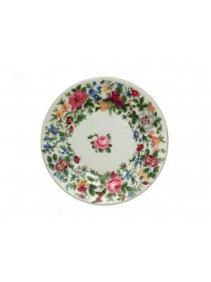 Crown Staffordshire Thousand Flowers F117 6.25  inch Plate