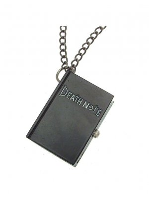 Deathnote Anime Deathnote Manga Deathnote Watch on a Chain Fob Watch