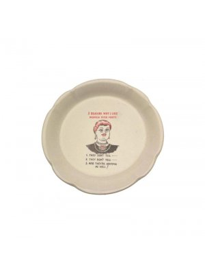 Vintage Novelty plate Women Over Forty CP2007