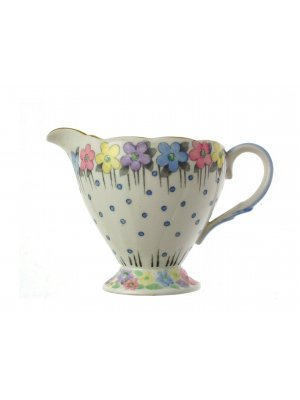 c1930 Goodwin Stoddard Foley floral and gilt 3 inch Jug