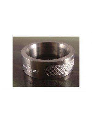 Mens Jewellery - Gentlemans Jeff Banks stainless steel grill ring - size Y or 21.38