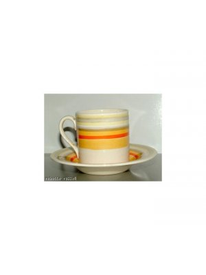 Wood and Sons Handcraft Ivory Ware Coffee Cup and Saucer a/f