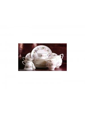 Royal Worcester June Garland 4.25 inch diameter Sugar Bowl