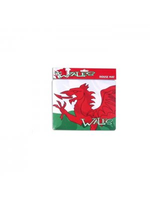 Welsh Mouse mat - Welsh dragon design