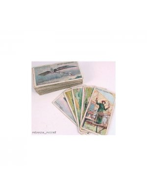 c1910 Part Set Wills Cigarette Cards Aviation 43/50