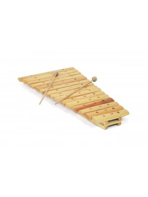 Hand made all wood 15 note xylophone