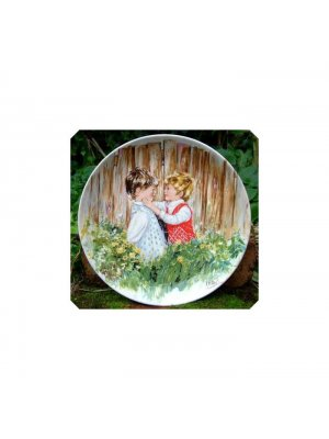 Wedgwood My Memories Be My Friend Plate Vickers CPO_43