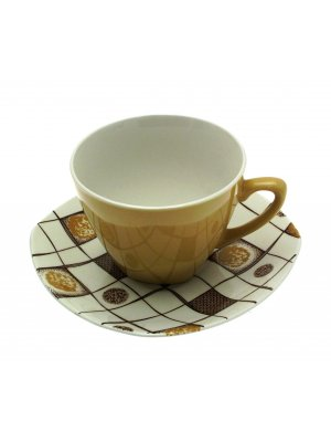 Midwinter Homespun Jessie Tait Cup and Saucer