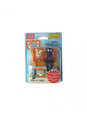 Moshi Monsters MegaBlok mini action figure and Moshling zoo set part - ideal pocket money toy